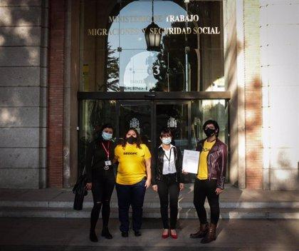 Trabajadoras del hogar urgen al Gobierno a cumplir con su promesa de mejorar sus condiciones laborales