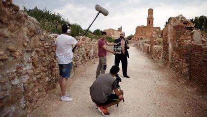 Belchite se convierte en plató de cine con la celebración de la III edición del certamen de cortometrajes