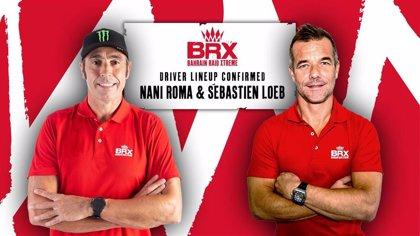 Loeb será compañero de Nani Roma en el BRX en el Dakar 2021