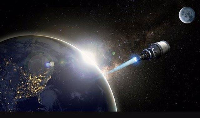 Estados Unidos proyecta un cohete nuclear para misiones militares hasta la Luna