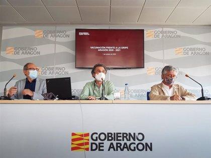 Aragón empezará el lunes la campaña de vacunación antigripal para la que cuenta con 440.000 dosis