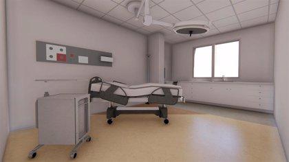 Las obras en los nuevos paritorios del Hospital Virgen de las Nieves están al 40 por ciento de ejecución