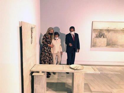 Inaugurada la primera exposición de Carmen Laffón en el Museo de Bellas Artes de Sevilla