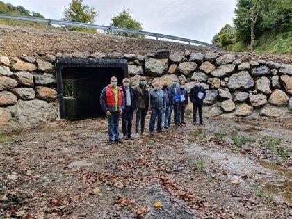 326.700 eurospara reparar el hundimiento de la carretera de Pandetrave