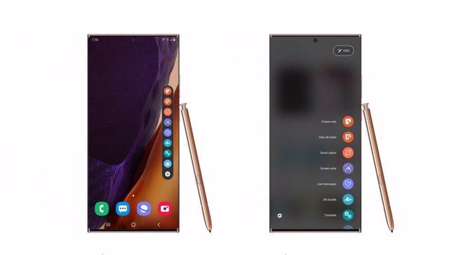 Samsung permite personalizar el funcionamiento del lápiz S Pen con Good Lock