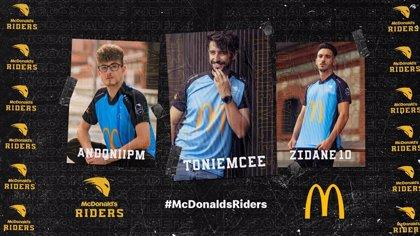 McDonald's entra en los eSports con el equipo de FIFA McDonald's Riders