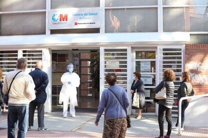 Llegan a los centros de salud madrileños 2 millones de test de antígenos para la detección precoz de Covid