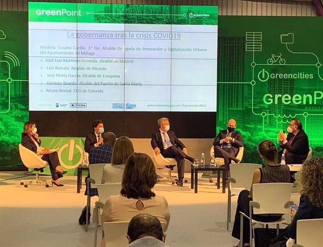 Foto Y Nota De Prensa: Éxito Del Encuentro Internacional Virtual Organizado Por Extenda En Greencities, El Foro De Las Ciudades Sostenibles
