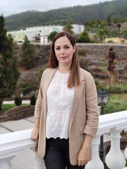 María Rodríguez, consejera de Medio Ambiente del Cabildo de La Palma