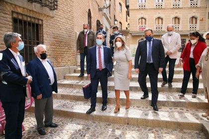 """Tolón destaca que el museo postal para Toledo supondrá """"un espaldarazo"""""""