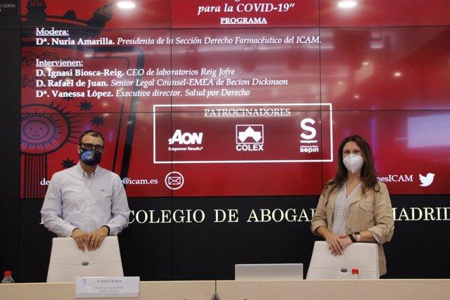 La sesión, organizada por la Sección de Derecho Farmacéutico del ICAM