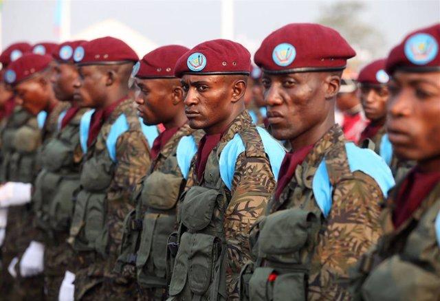 Soldados de República Democrática del Congo