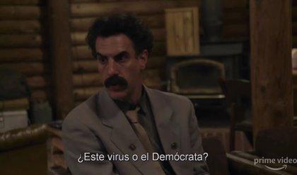 Borat mata virus a sartenazos en el absolutamente disparatado tráiler de la secuela que ya tiene fecha en Amazon