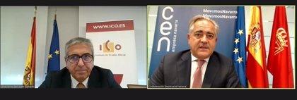 Las empresas navarras han recibido cerca de 1.500 millones de euros a través de más de 9.100 operaciones con el ICO