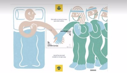 Correos lanza un sello para reconocer a los sanitarios y trabajadores esenciales durante la pandemia