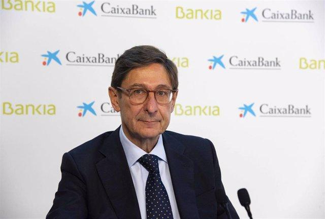El presidente de Bankia y que será presidente ejecutivo de la nueva entidad, José Ignacio Goirigolzarri.