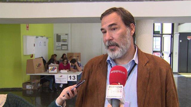 Cónsul general de Venezuela en Madrid, Mauricio Rodríguez.