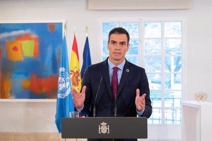 """Sánchez advierte de la amenaza de que Covid """"profundice las desigualdades"""" y pide priorizar la """"perspectiva de género"""""""