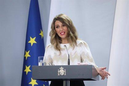 """Díaz señala que hay """"cohesión interna"""" en el Gobierno de coalición pese al """"ruido"""" sobre """"cuestiones que no son reales"""""""