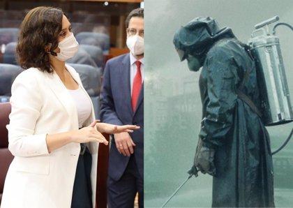 """El creador de Chernobyl responde a Díaz Ayuso: """"No ha entendido la serie"""""""