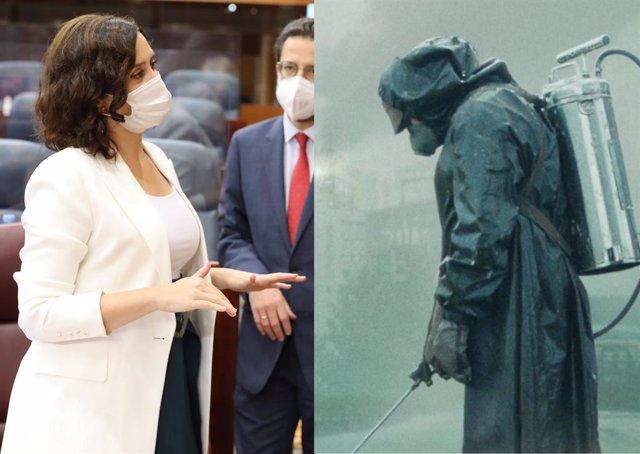 El creador de la serie Chernobyl responde a Díaz Ayuso