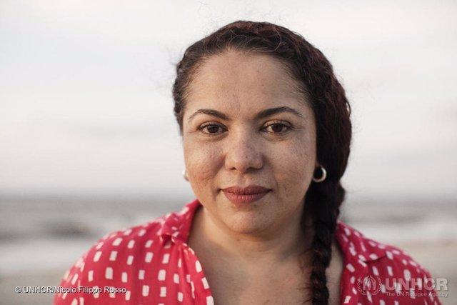 La colombiana Mayerlín Vergara, ganadora del Premio Nansen