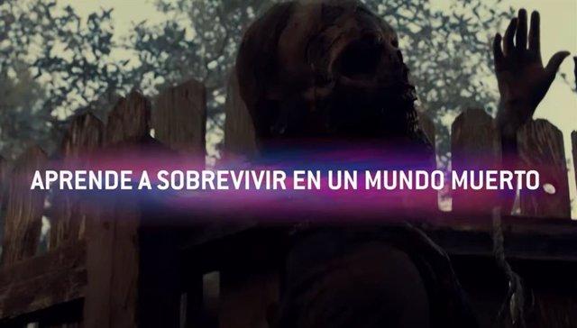 Jordi Cruz protagoniza Generación Z(OMBIE), campaña por el lanzamiento de The Walking Dead: World Beyond