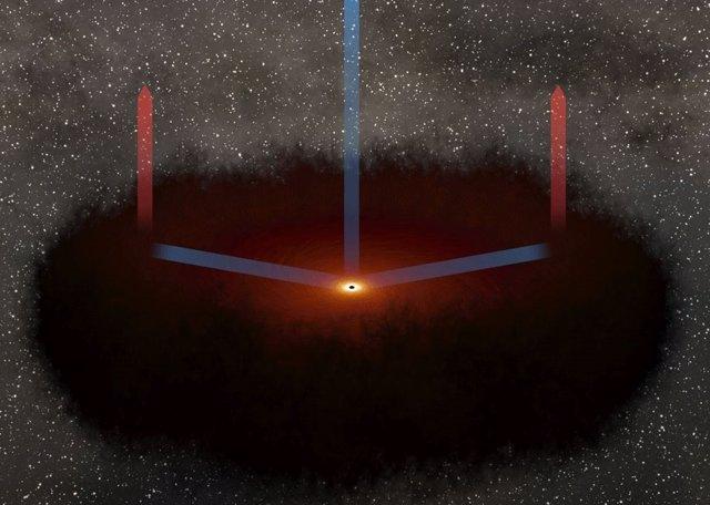 Cómo medir distancias cósmicas mapeando el eco de galaxias lejanas