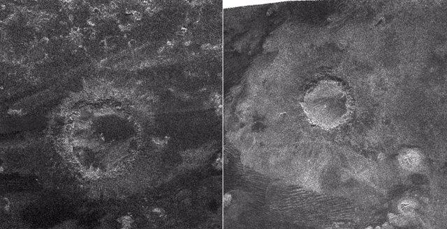 Cráteres en Titán pueden revelar antiguos ecosistemas congelados