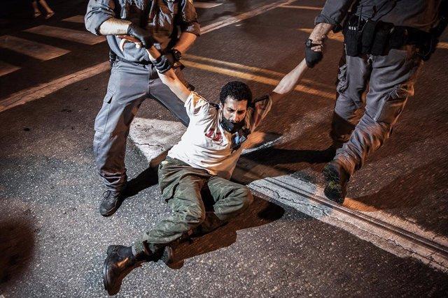 Israel.- Al menos 12 detenidos en Tel Aviv durante una nueva protesta contra el