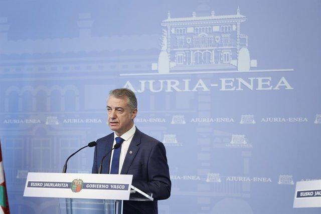 """Urkullu sugiere """"republicanizar la monarquía"""" para dotarla de más """"transparencia"""