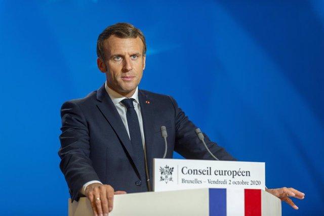 """Francia.- Macron anuncia su nuevo plan contra el """"separatismo islámico"""" en Franc"""