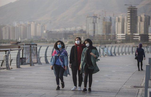 Coronavirus.- Irán confirma otros 3.500 nuevos casos y casi 190 muertos en el úl