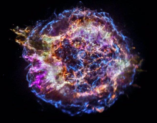 Un origen solitario para un célebre remanente de supernova