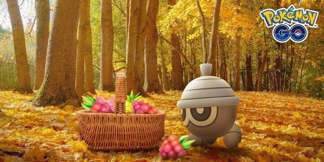 Evento de otoño de 2020 de Pokémon GO.