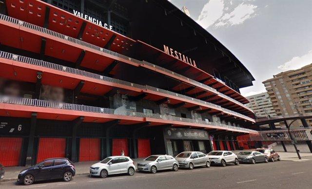 El Valencia CF vende los terrenos del estadio de Mestalla a una cooperativa