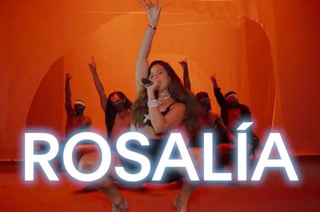 Rosalía se une a la revolución de la lencería de Rihanna en el tráiler de Savage X Fenty Show Vol. 2