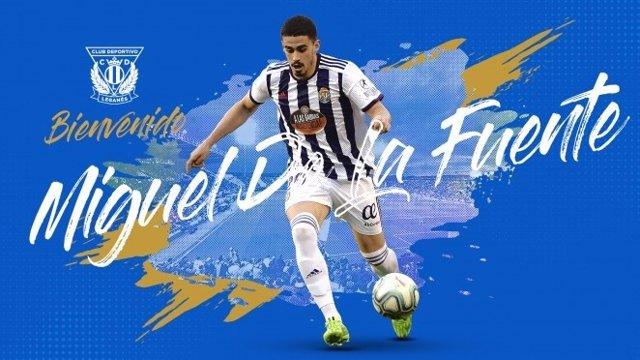 Miguel de la Fuente, nuevo jugador del C.D. Leganés