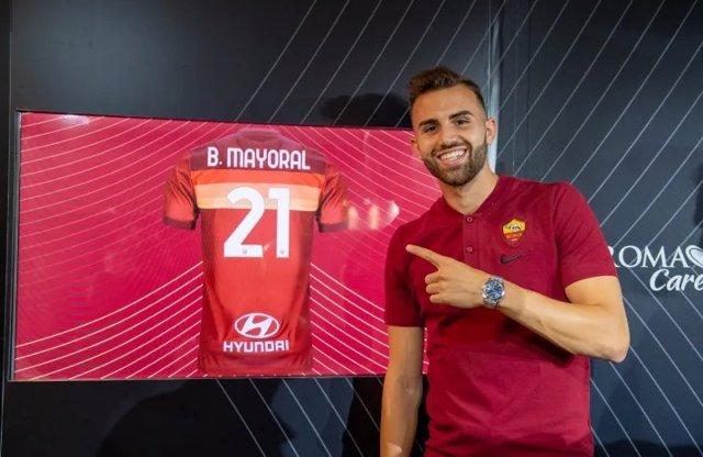 Borja Mayoral, nuevo jugador de la Roma