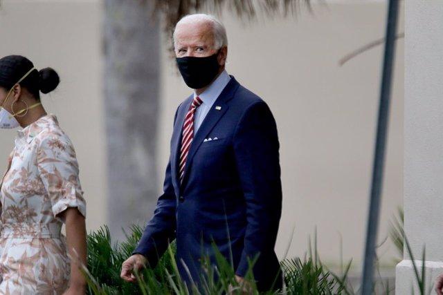AMP2.- EEUU.- Biden y su mujer dan negativo tras someterse al test para el coron