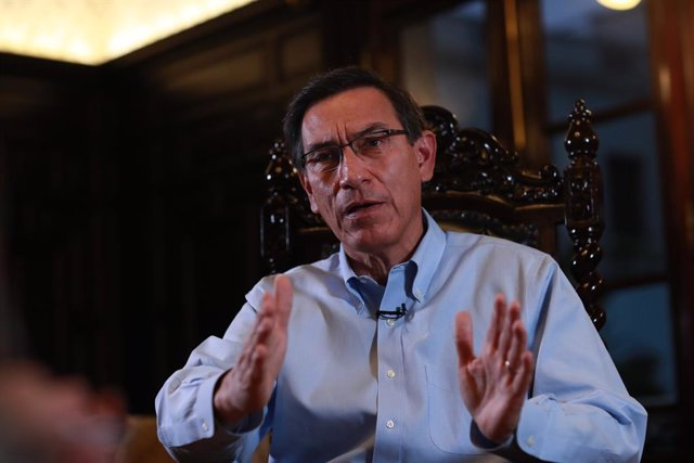 Perú.- Diez detenidos, algunos cercanos al presidente Vizcarra, por la trama de