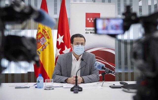 Foto recurso del consejero de Hacienda, Javier Fernández-Lasquetty