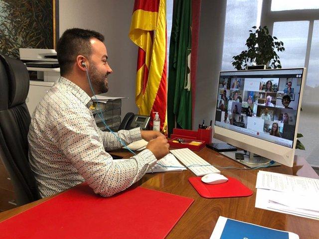 El president de l'ACM, Lluís Soler, es reuneix amb el president de la FEMP, Abel Caballero, i altres dirigents municipalistes