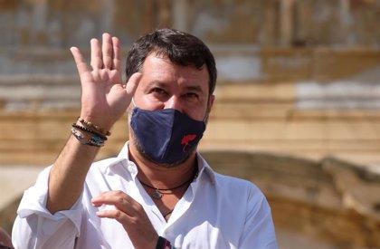 Termina sin conclusiones la primera audiencia preliminar a Salvini por un caso de abusos contra migrantes