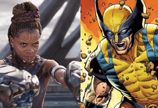 Shuri, la nueva Black Panther de Vengadores junto a Lobezno