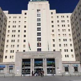 Fachada del Hospital Virgen de las Nieves