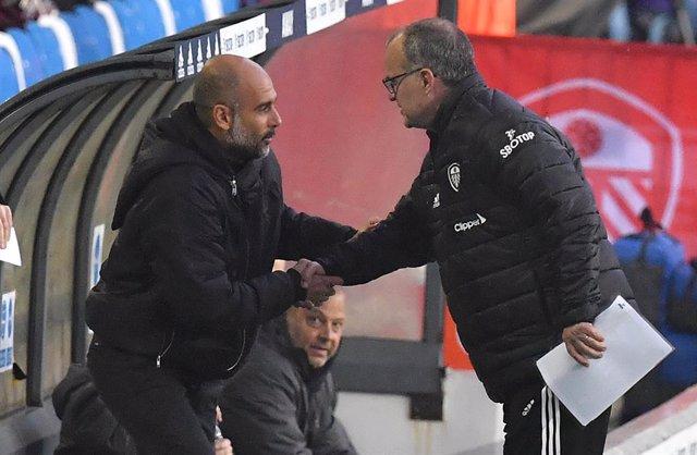 Fútbol/Premier.- (Crónica) Bielsa y Guardiola se reparten los puntos