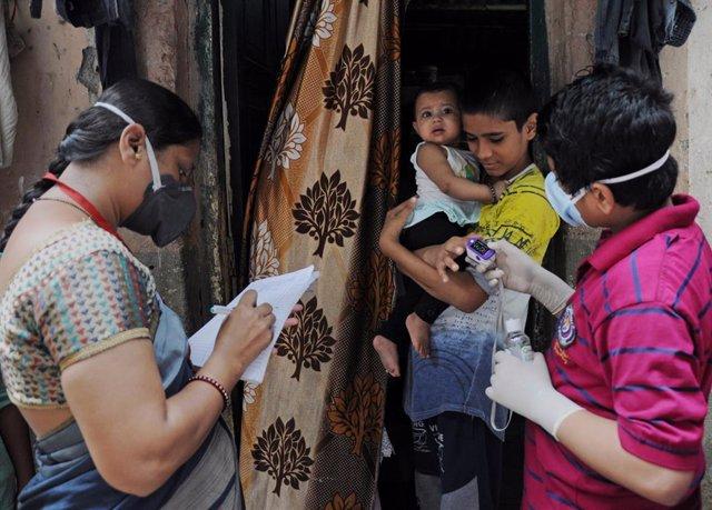 Coronavirus.- India supera los 6,5 millones de casos de coronavirus con más de 7