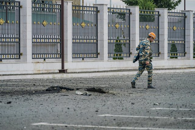 Armenia/Azerbaiyán.- Azerbaiyán denuncia más de 20 civiles muertos desde el inic