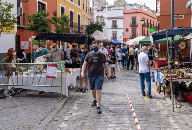 Vuelve el 'Mercadillo del Jueves', de la calle Feria en Sevilla, foto de archivo